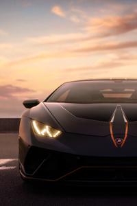 1080x1920 Black Lamborghini 4k