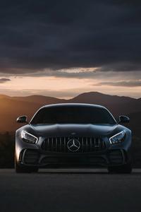 240x320 Black Mercedes Benz Amg Gt 4k 2020