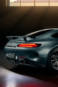 Black Mercedes Benz Amg GT Rear