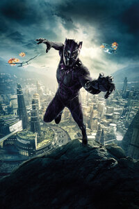Black Panther 10k Poster