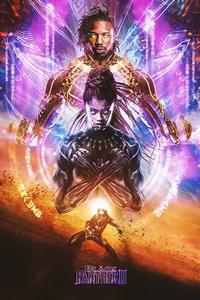 1280x2120 Black Panther 2 2022 Poster