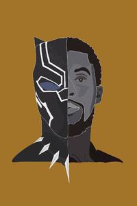 Black Panther 2018 4K Minimalism