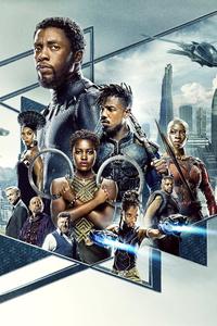 Black Panther 2018 5k Poster