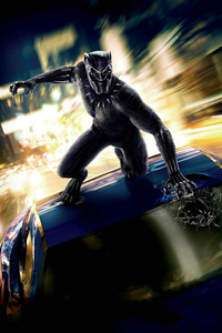 Black Panther 2018 International Poster