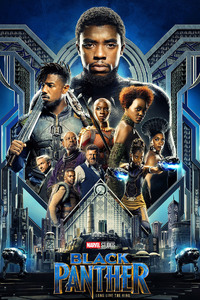 640x1136 Black Panther 2018 Movie HD