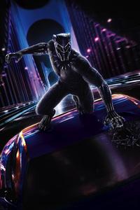 Black Panther 2018 Movie Poster