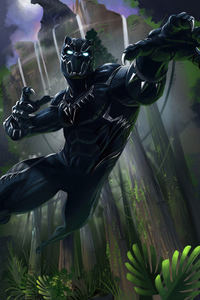 Black Panther 2020 4k Artwork