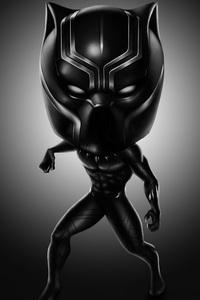 Black Panther 4k Digital Art