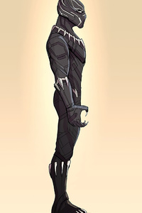 Black Panther 4k Minimalism