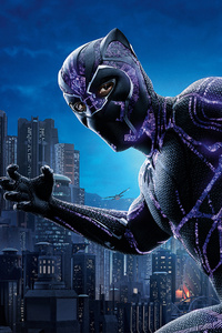 Black Panther 4k Movie Poster 2018