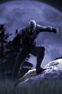 Black Panther 5k Artwork 2018