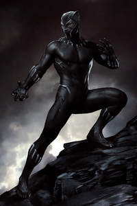 Black Panther 5k Artwork