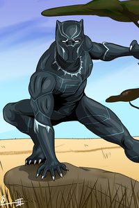 Black Panther 5K New Artwork