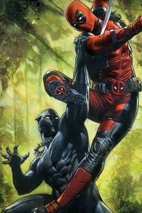Black Panther And Deadpool