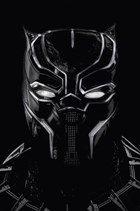 Black Panther Artwork 5k