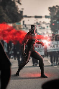 Black Panther Black Lives Matter