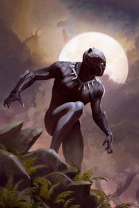 Black Panther Card Art 4k