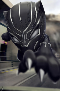 360x640 Black Panther Chibi