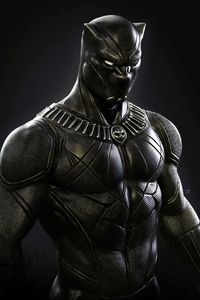 Black Panther Darkness 4k