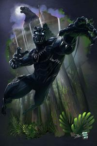 Black Panther Key Art