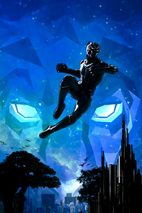 Black Panther Marvel Cinematic Universe Artwork