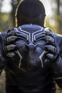 Black Panther Mask Cosplay