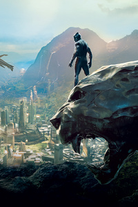 1080x2280 Black Panther Movie 10k
