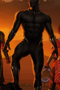 Black Panther Movie Artwork