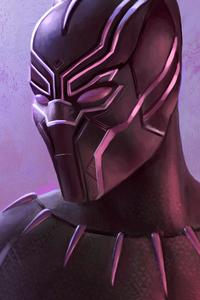 Black Panther Neon 4k