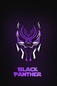 Black Panther Neon 5k