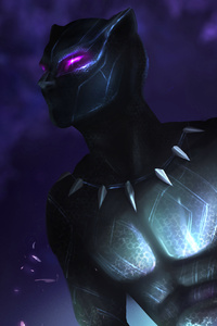 360x640 Black Panther New Artwork