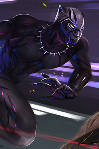 Black Panther Vs Golden Jaguar