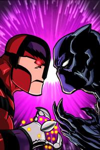 Black Panther Vs Klaw 8k