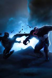 2160x3840 Black Panther Vs Venom 4k