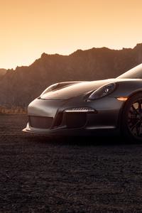 1080x2160 Black Porsche 2020