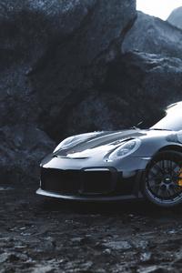 640x960 Black Porsche4k
