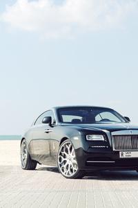 Black Rolls Royce In Dubai 5k
