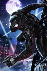 Black Spider Man 4k 2020