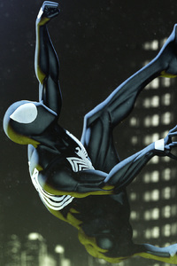 Black Spiderman Art