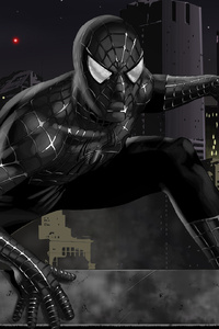 Black Spiderman Artworks