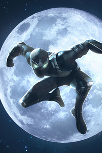 1080x1920 Black Spiderman Marvel Contest Of Champions
