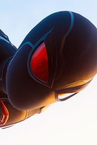 Black Spiderman Suit 4k