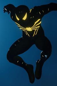 Black Suit Spiderman PS4 Pro Game