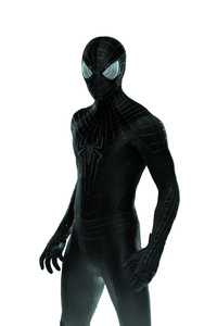 Black Suited Spider Man