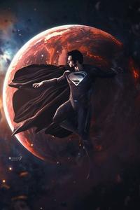 640x960 Black Superman 5k