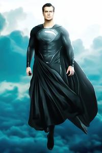 Black Superman Suit Henry Cavill