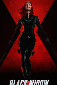 1080x2280 Black Widow 2020 4k Movie