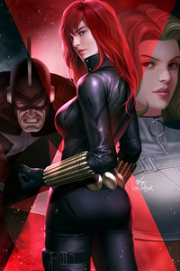 540x960 Black Widow 2020 Artworks