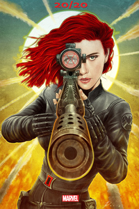 1280x2120 Black Widow 2020 Movie Poster