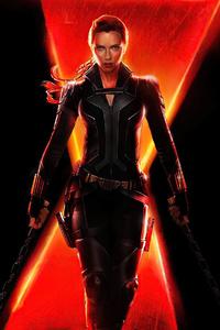 240x320 Black Widow 2020 Movie Poster 4k